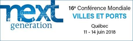 16ème Conférence Mondiale Villes & Ports AIVP  11 – 14 Juin 2018