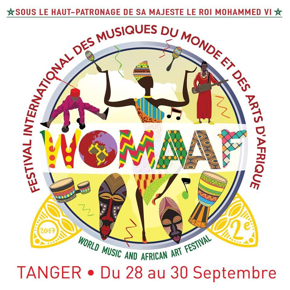 2ème édition à Tanger du 28 au 30 Septembre de WOMAAF 2017